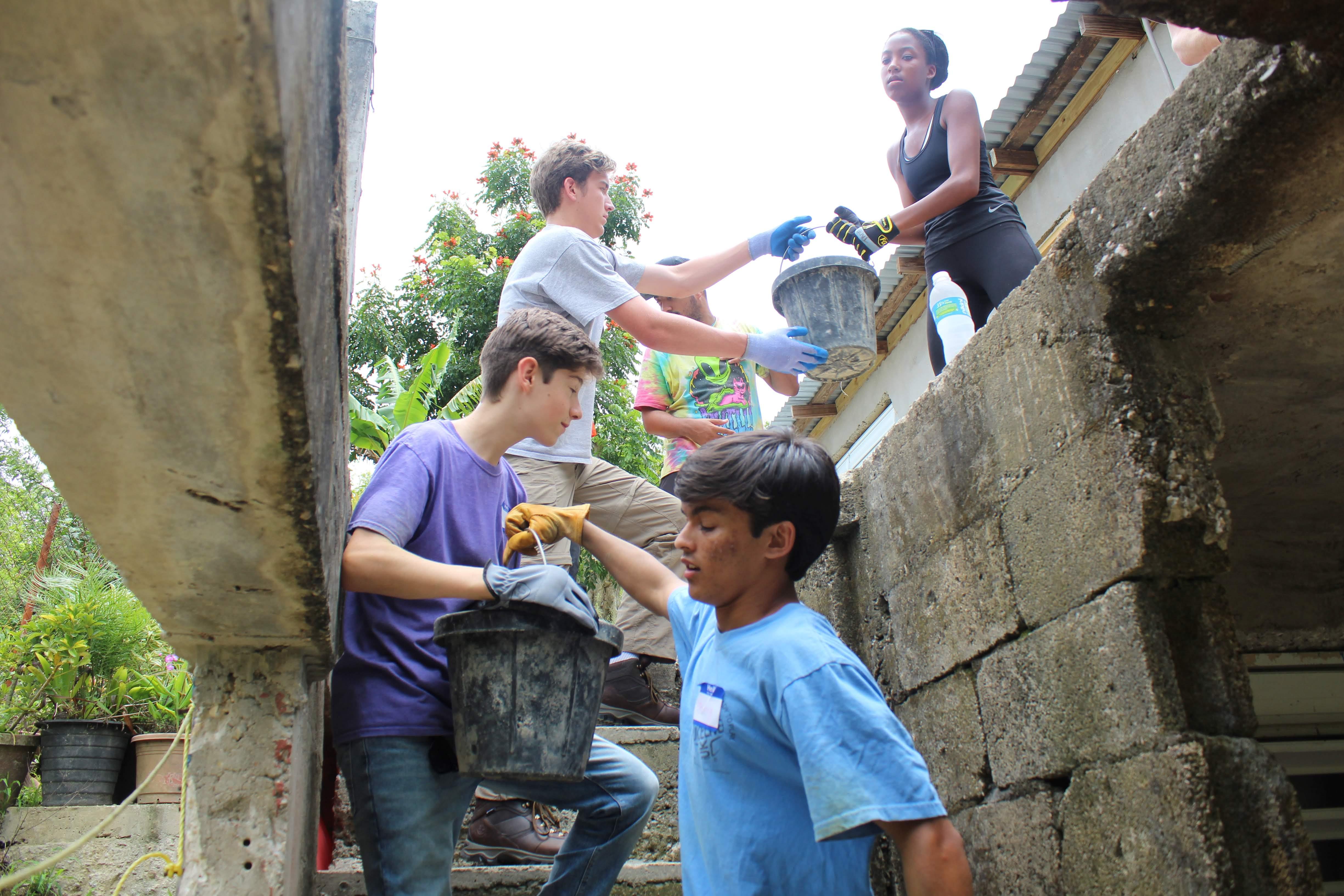 Summer Program - International Relief   Global Works - Puerto Rico: Hurricane Maria Relief