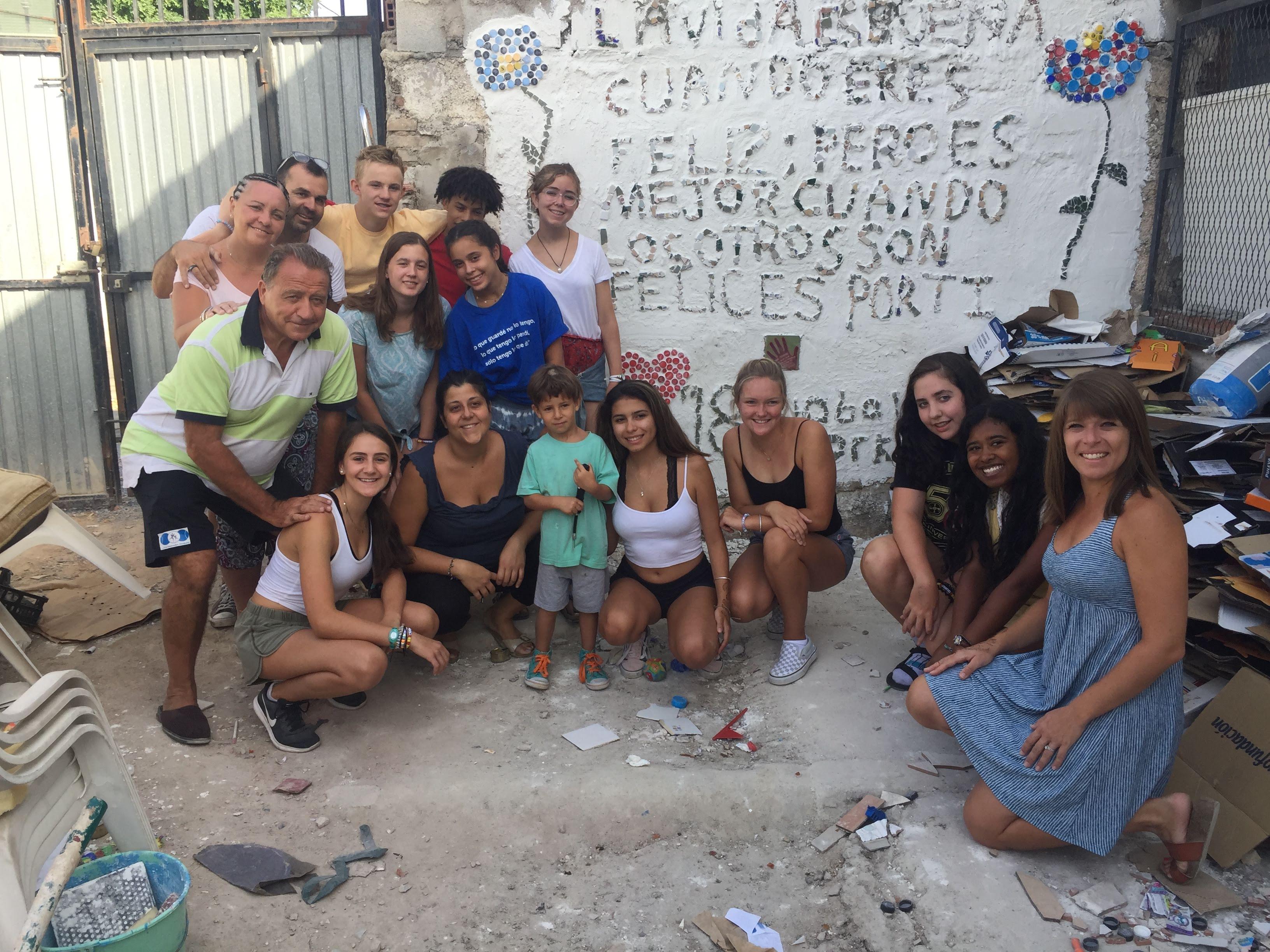 Summer Program - Community Center | Global Works - Spain: Service & Sights