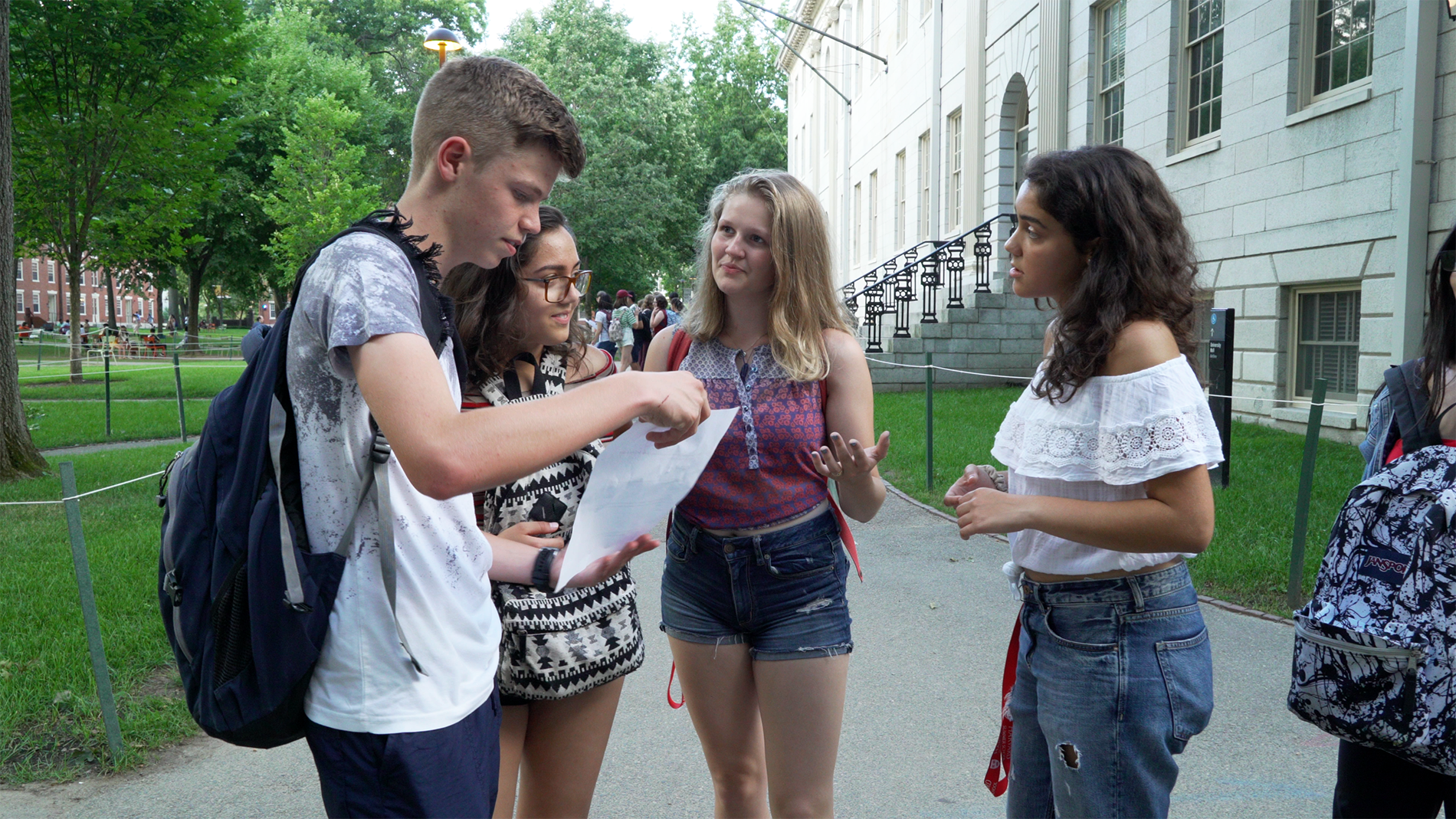Summer Program - College Credit | Harvard University: Summer High School Programs