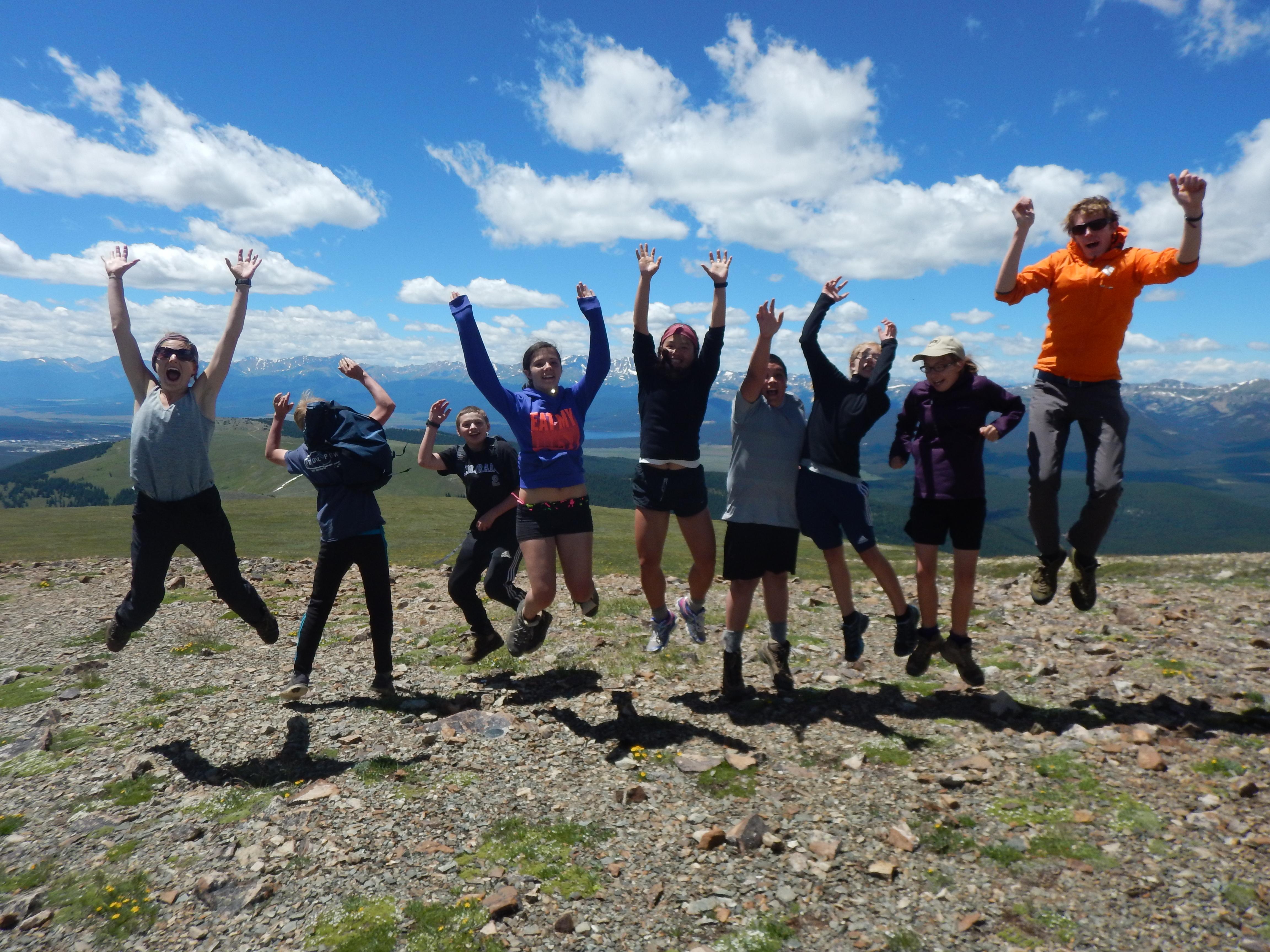 Summer Program - Hiking | High Mountain Institute: High Peaks Adventure