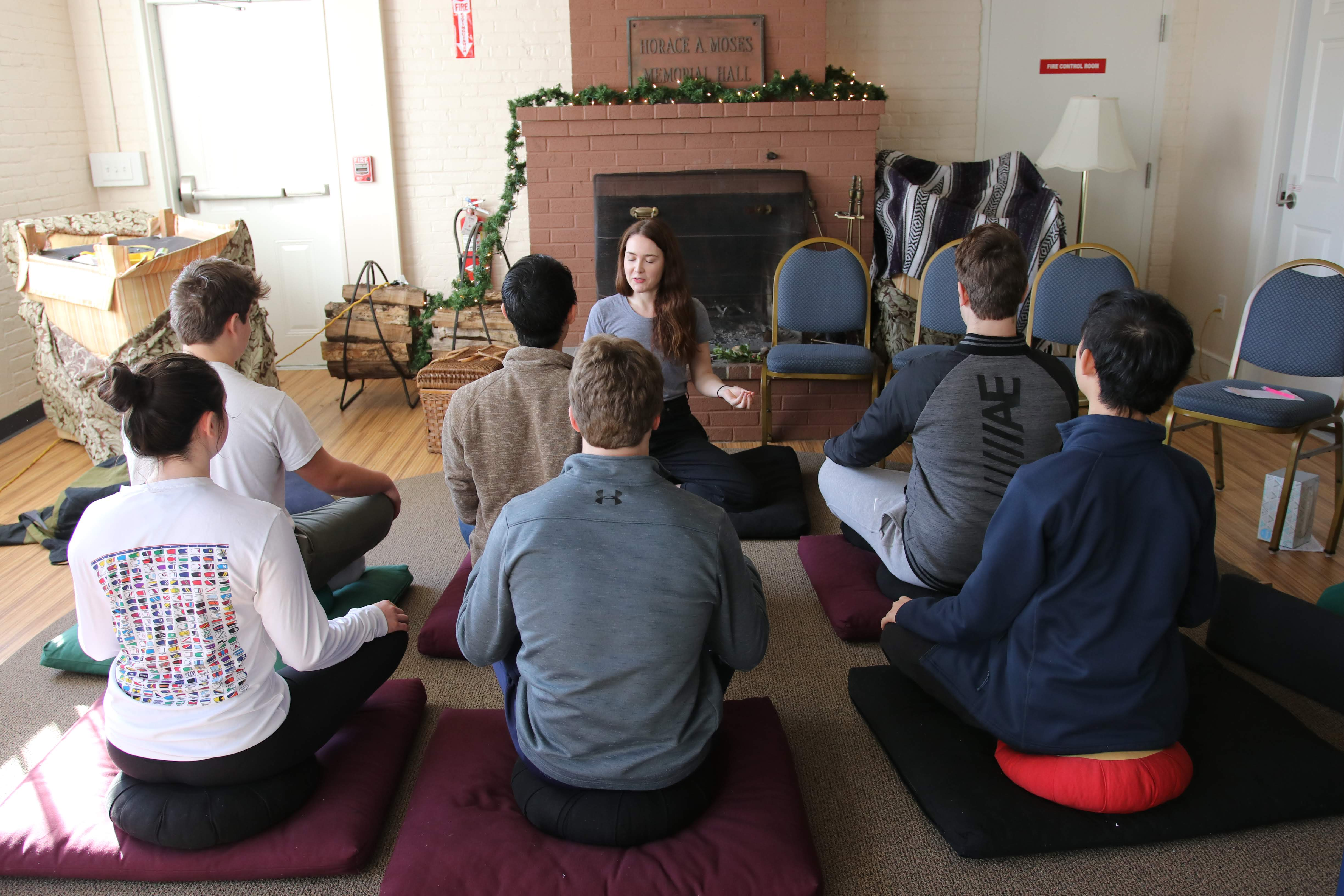 Summer Program - Group Discussions | Inward Bound Mindfulness Education: 2020 UK Retreat for Young People, Derbyshire