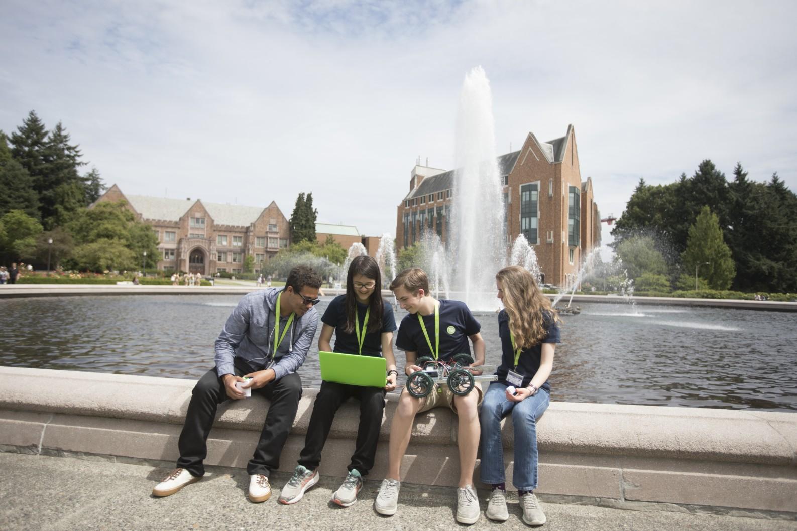 Summer Program - Electronics | iD Tech Camps | Held at Fairfield University