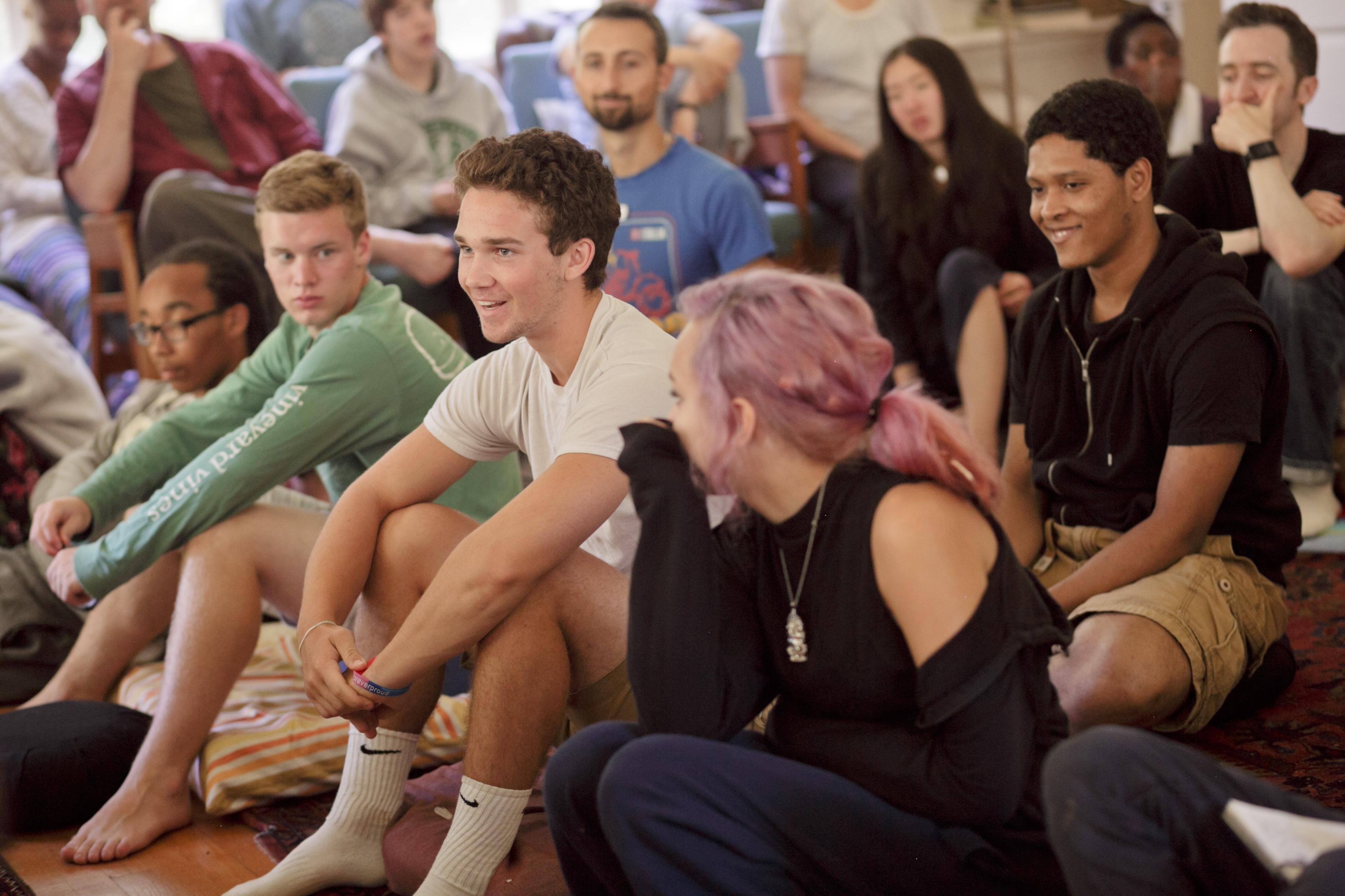 Summer Program - Stress Reduction   Inward Bound Mindfulness Education: Northern California Teen Retreat
