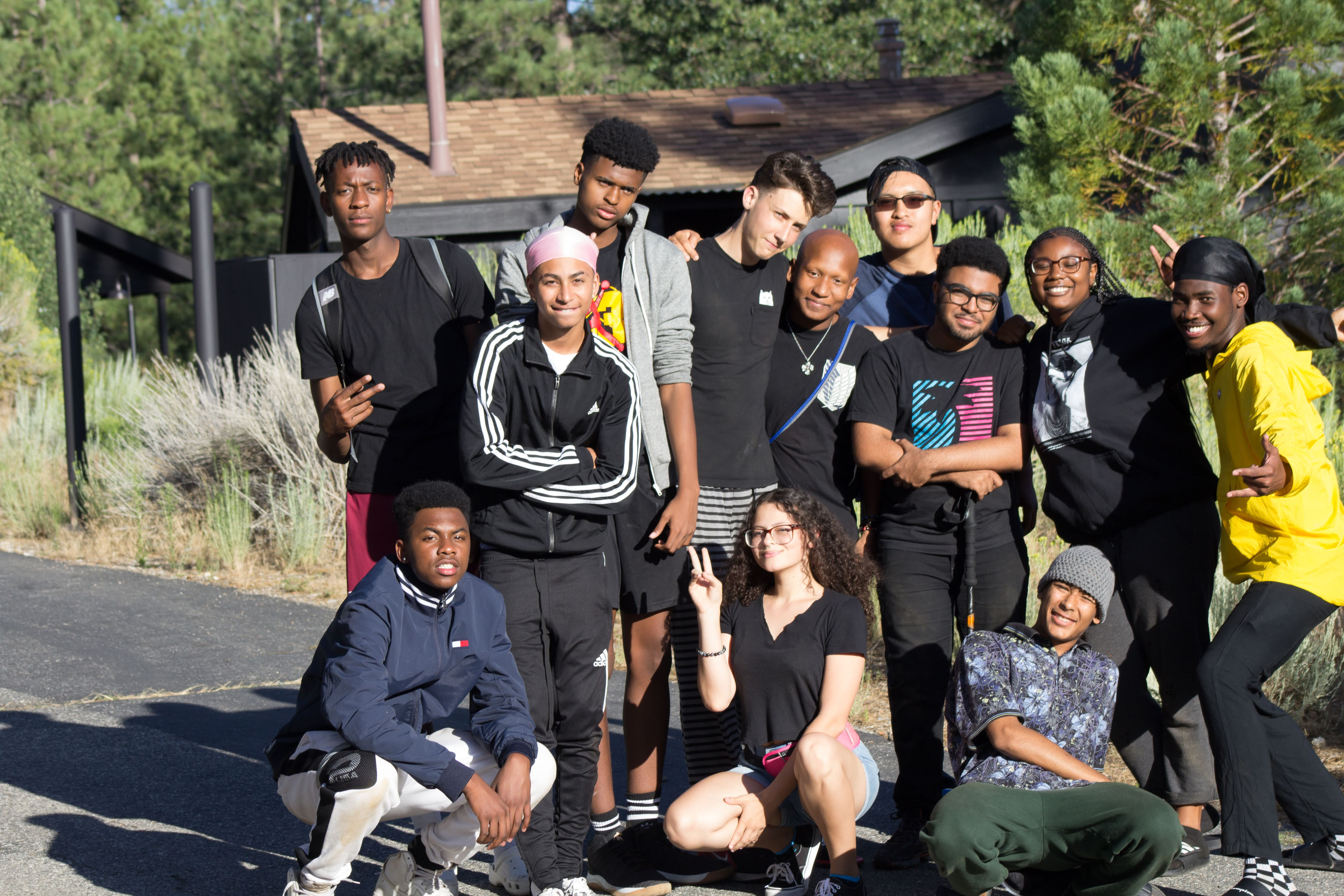 Summer Program - Stress Reduction | Inward Bound Mindfulness Education: Teens of Color West Retreat