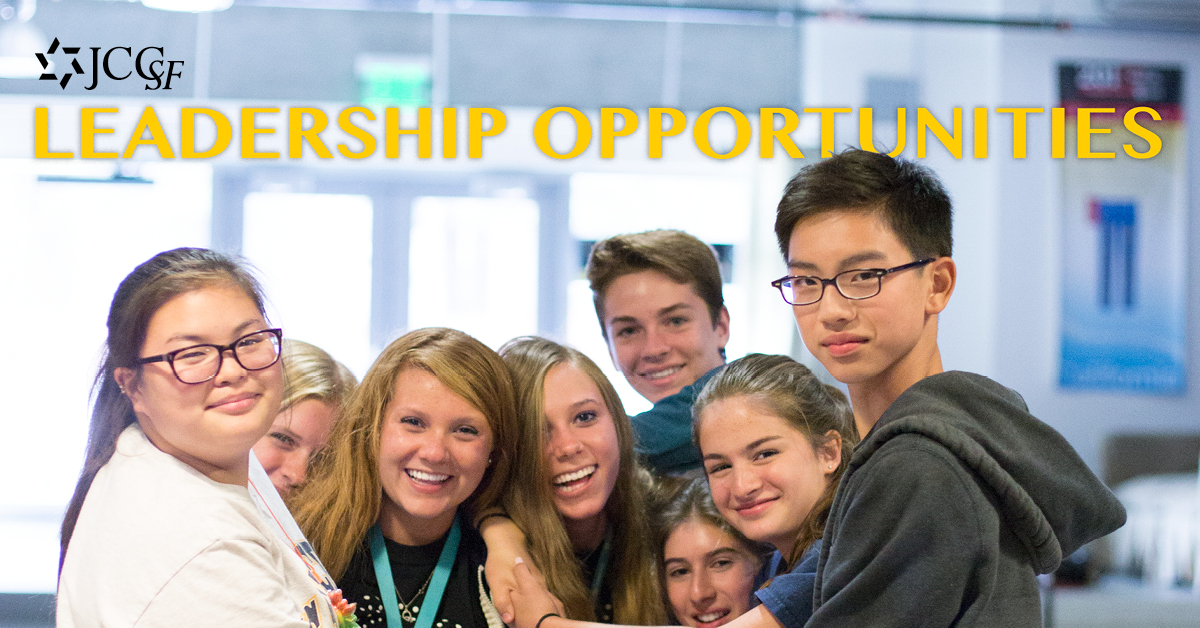 Summer Program - Jewish Service | Jewish Community Center of San Francisco (JCCSF): Leaders In Training