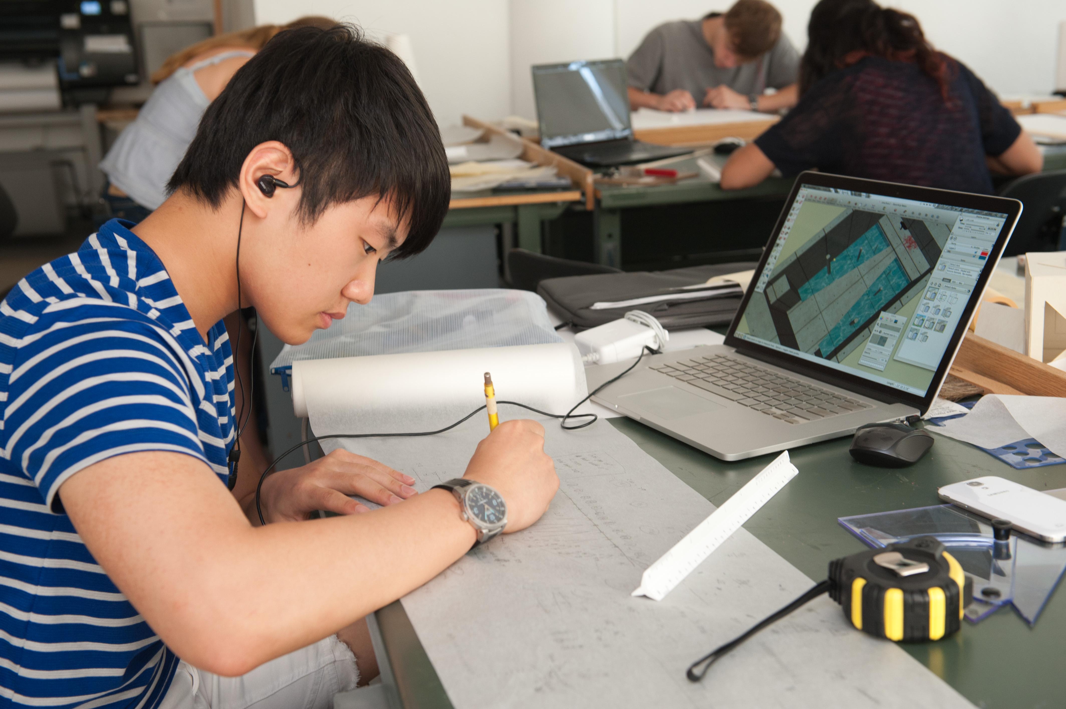 Summer Program - College Application | Julian Krinsky: Architecture - Summer at Penn