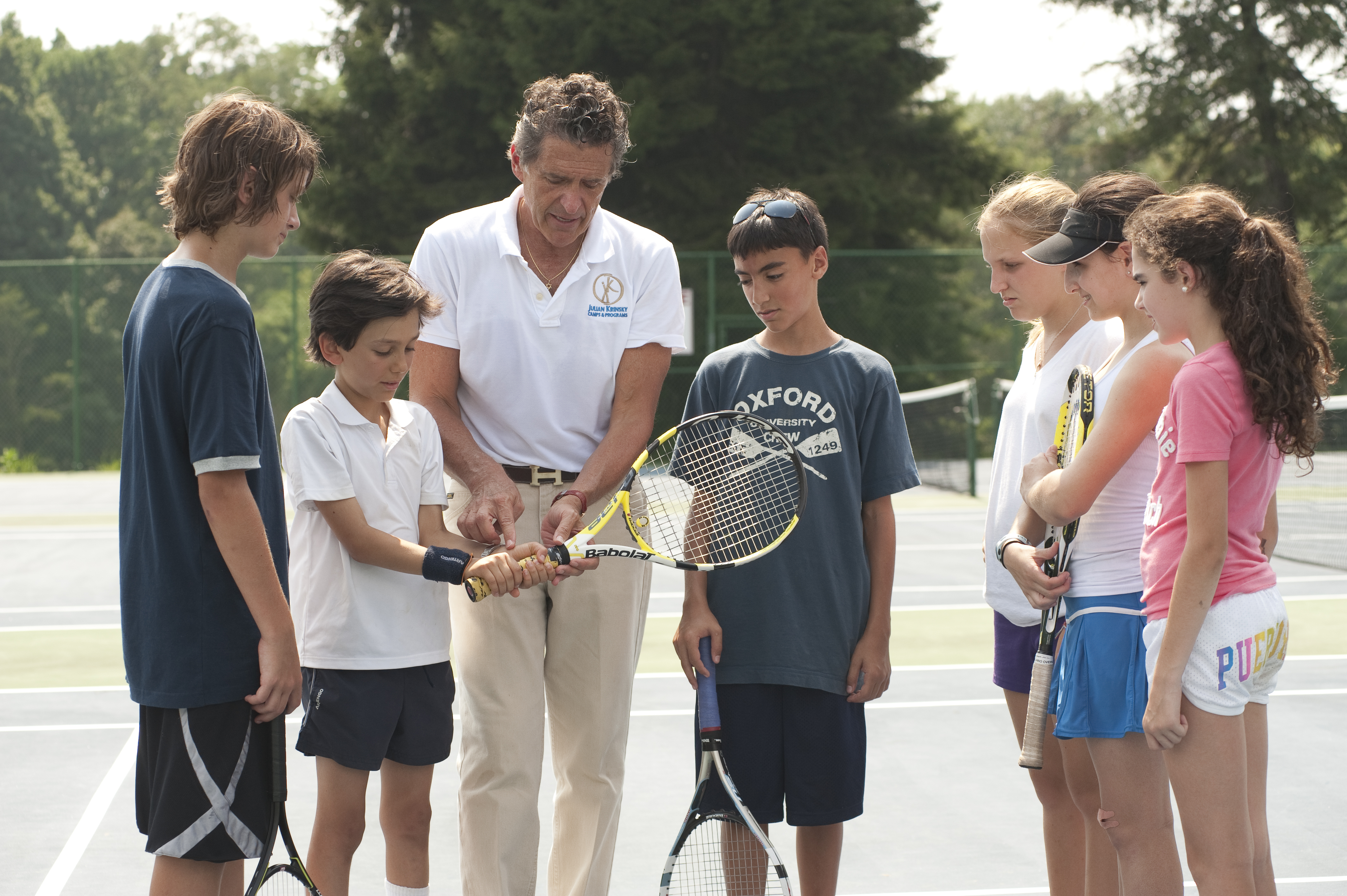 Summer Program - Tennis | Julian Krinsky School of Tennis
