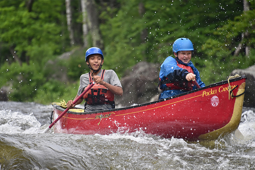 Summer Program - Kayaking | Kroka Expeditions Summer Programs
