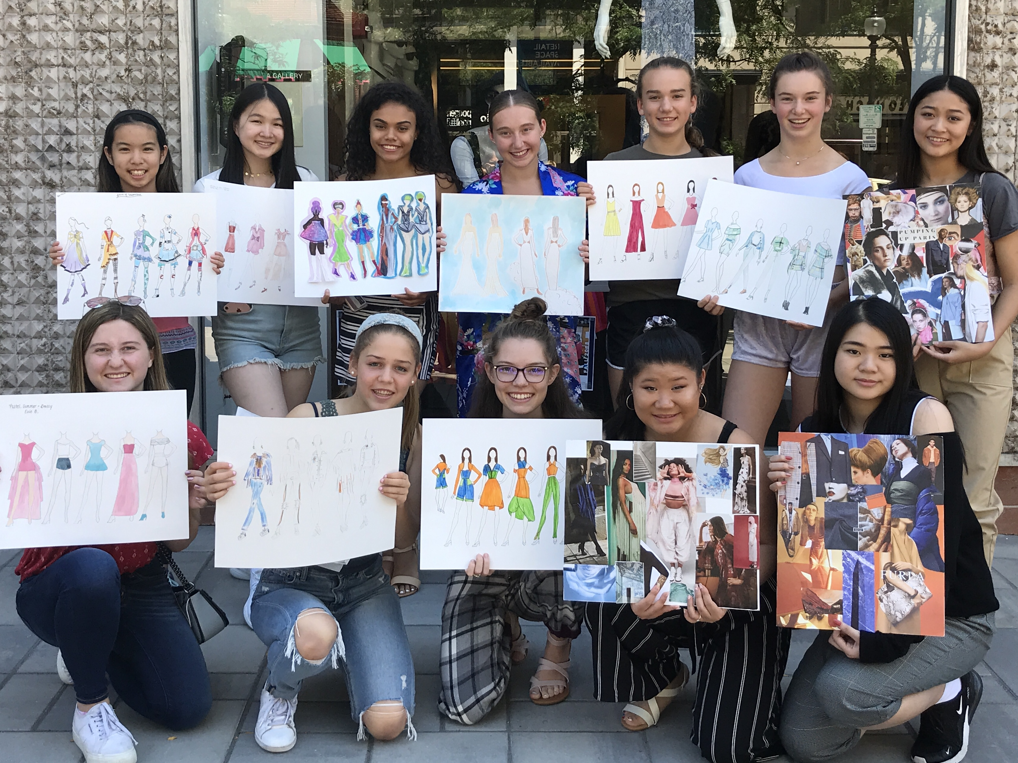 Summer Program Teen Fashion Clinics - School of Fashion Design