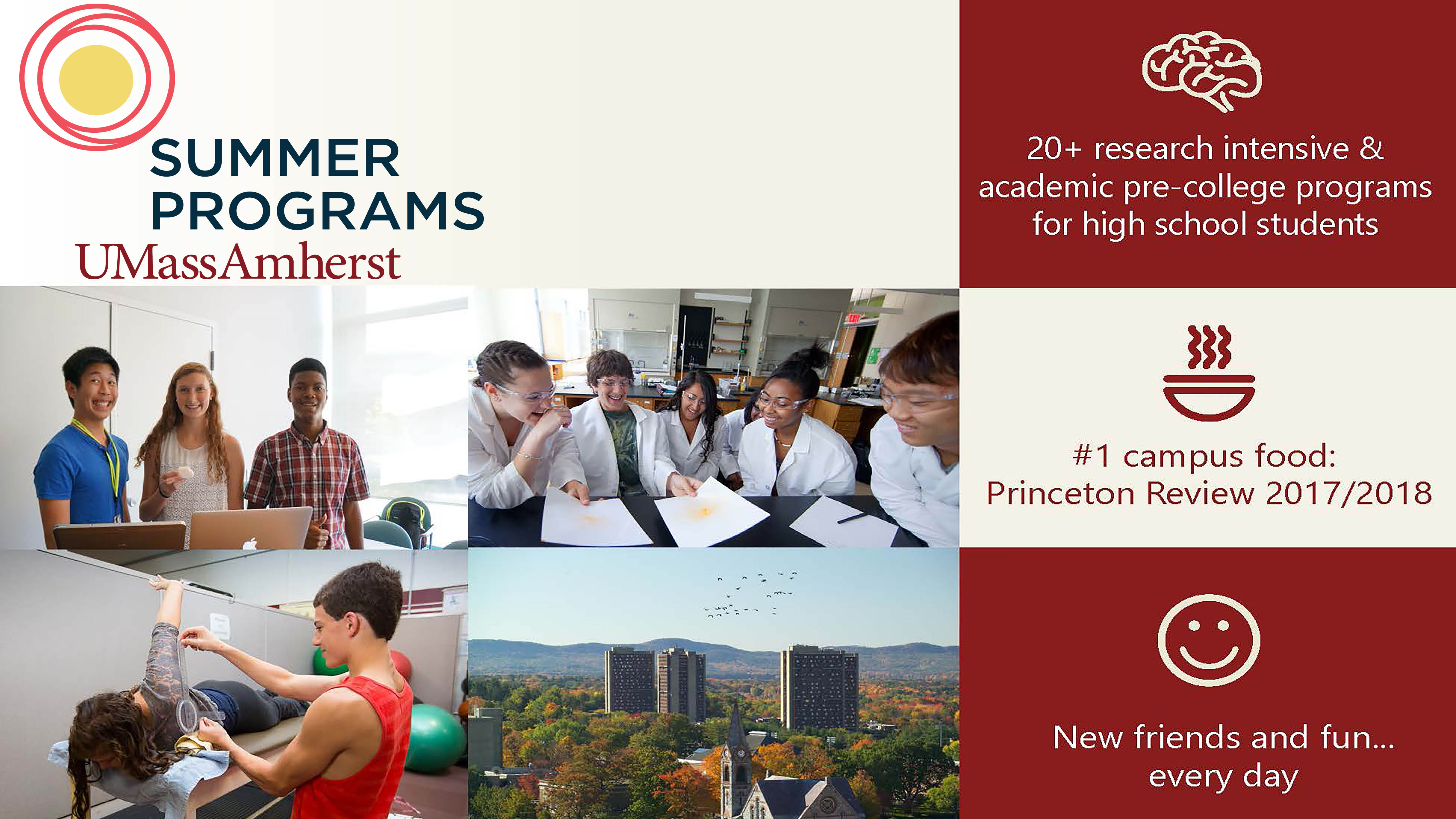 Summer Program - Marine Biology | Research Intensive Lab Placements with University Faculty at UMass Amherst
