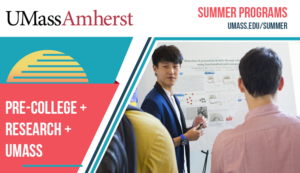 Summer Program - Bio Technology | UMass Amherst Pre-College: Research Intensive Lab Placements