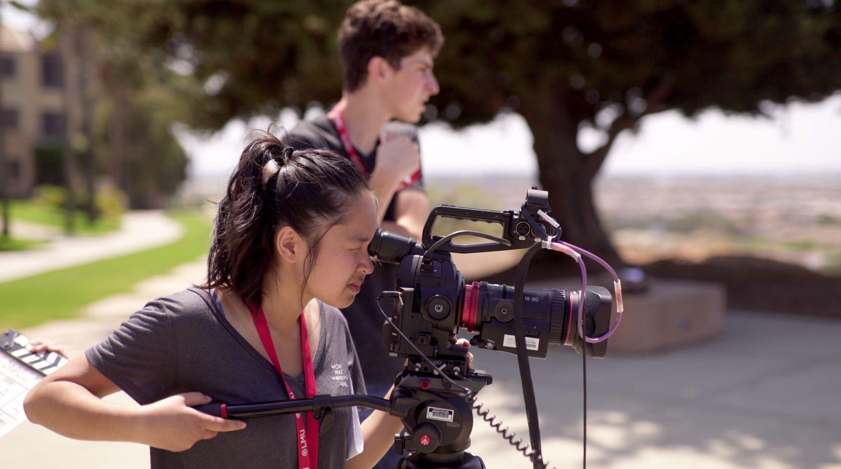 Summer Program - Filmmaking and Digital Media | LMU Pre-College Programs: Film Production: Social Impact Filmmaking