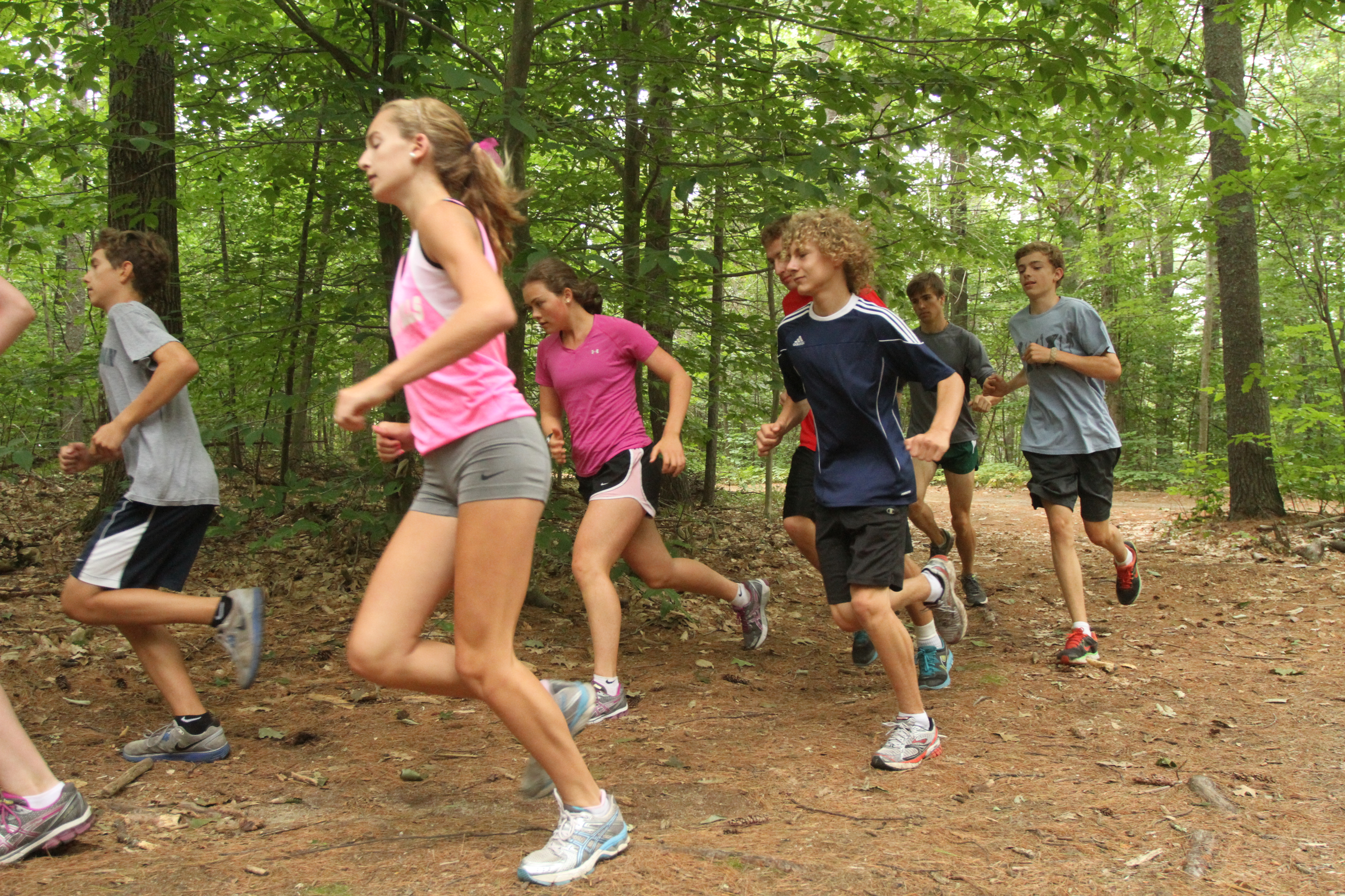 Summer Program - Cross Country | Slovenski Camps: Maine Cross Country Running Camp