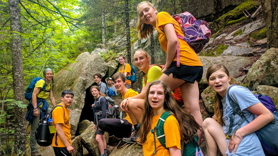 Summer Program - Animals/Nature | Teen Adventure Trips at Mass Audubon's Wildwood Camp