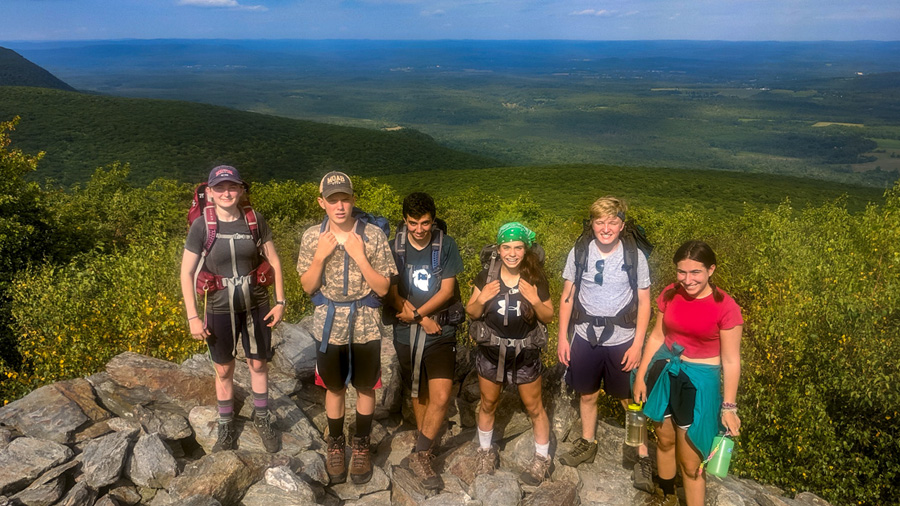 Summer Program - Hiking | Teen Adventure Trips at Mass Audubon's Wildwood Camp