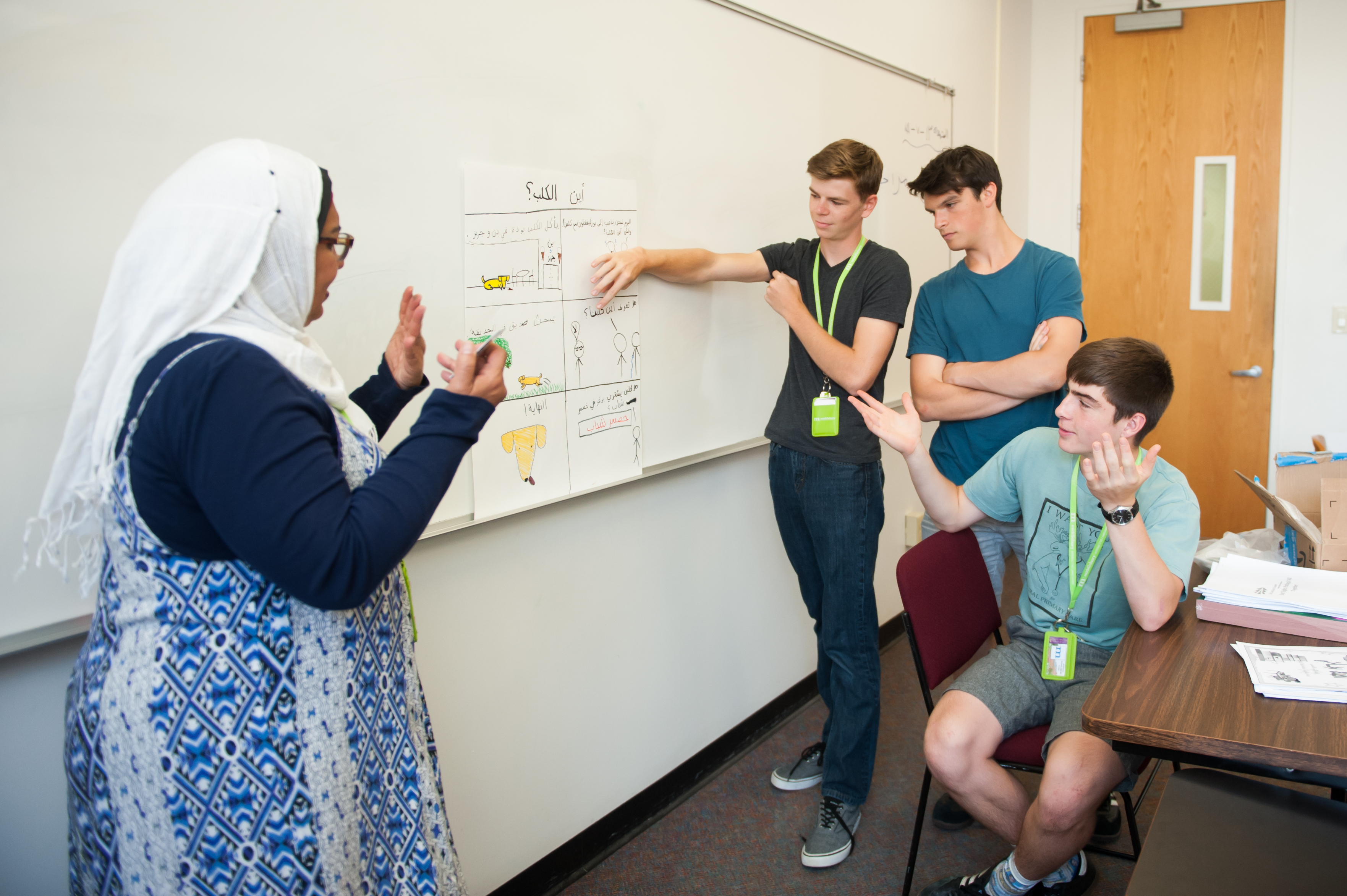 Summer Program - Pre-College | Middlebury Interactive Languages™ Summer Academy—U.S. Immersion in Arabic