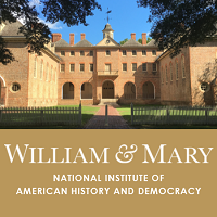 Summer Program College of William & Mary: Pre-College Program in Early American History