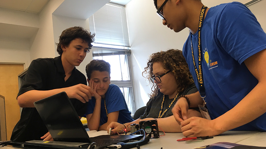 Summer Program - Forensic Science | Envision - National Youth Leadership Forum: Engineering at University of California