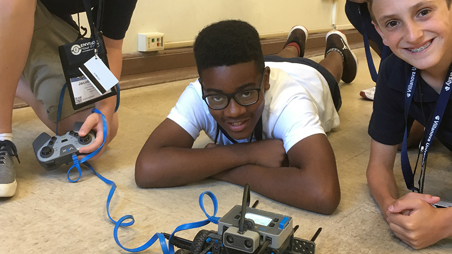 Summer Program - Video Game Design | Envision - National Youth Leadership Forum: Explore STEM at Villanova University