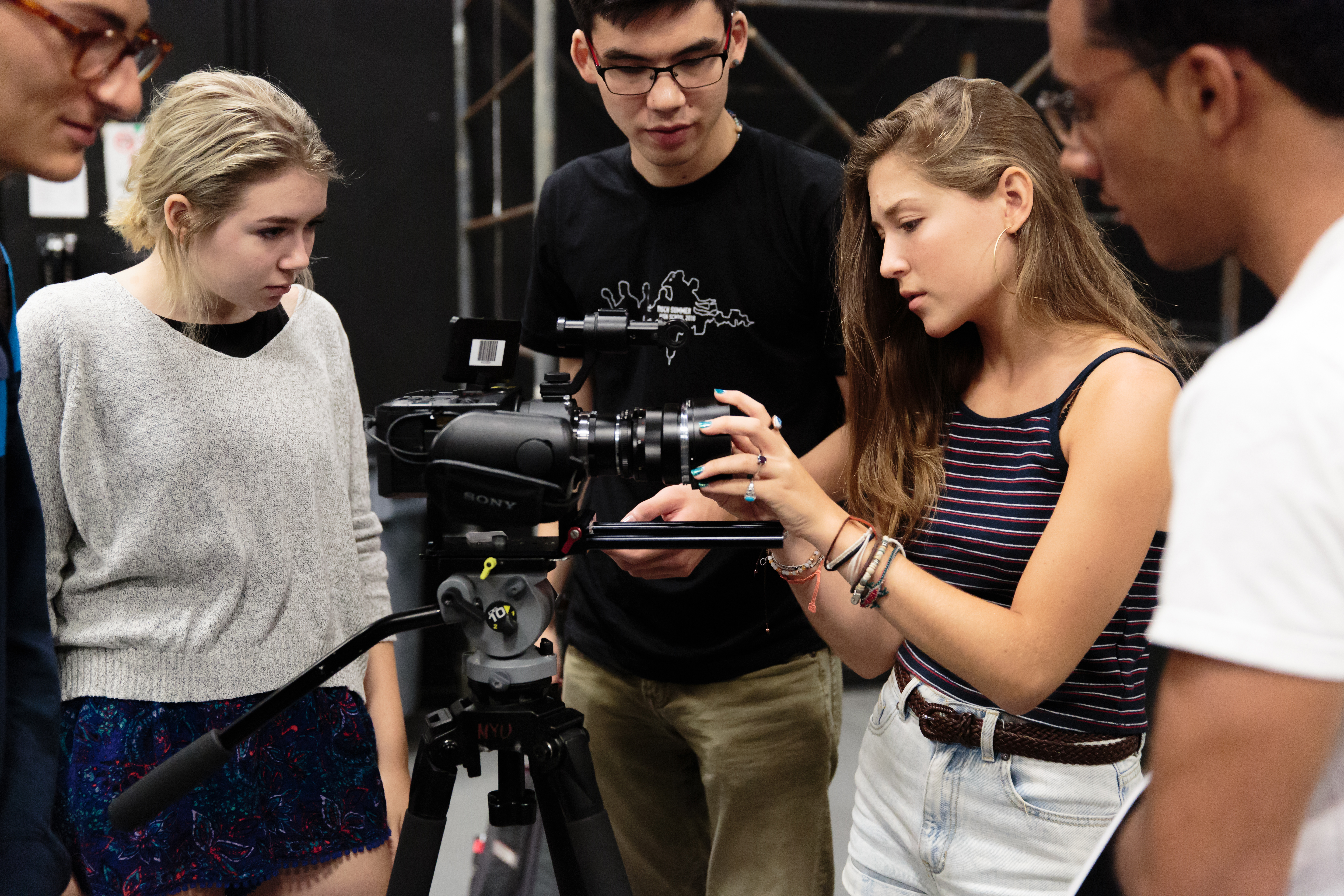 Summer Program - Theatre Arts | New York University: Tisch Summer High School Residential Program
