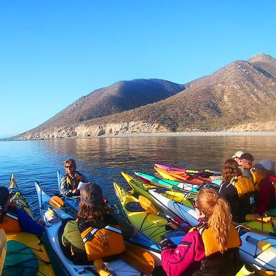 Gap Year Program - NOLS Baja Sea Kayaking  1