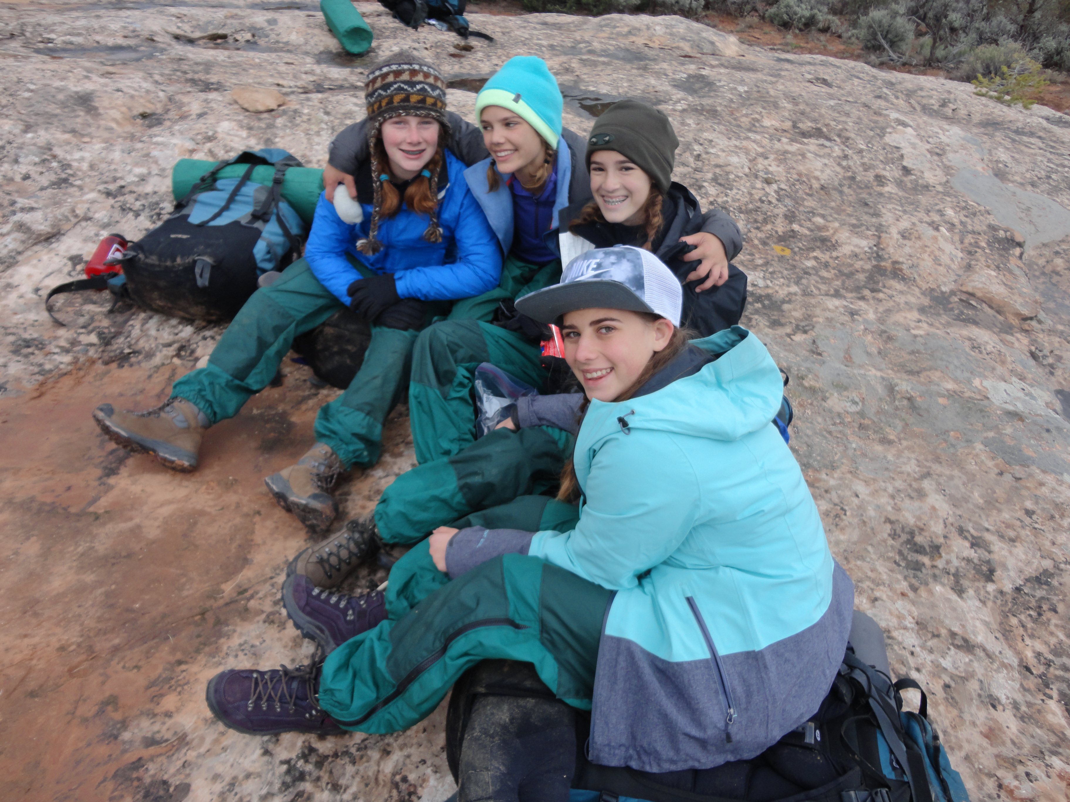 Summer Program - Hiking | NOLS Idaho Girls Backpacking Adventure