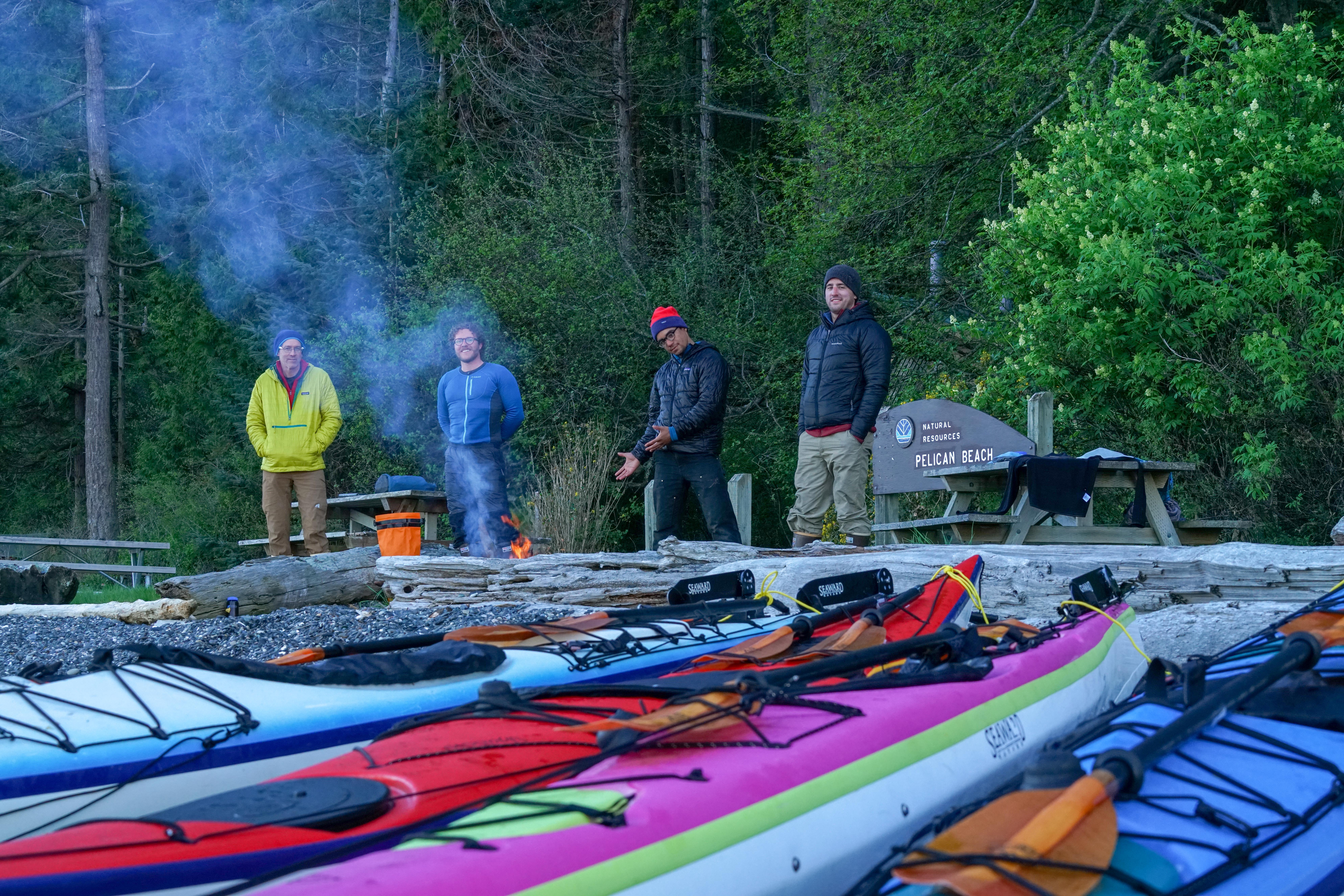 Summer Program - Kayaking   NOLS Pacific Northwest Sea Kayaking