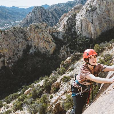 Summer Program - Hiking | NOLS Rock Climbing 21-Day (16 and 17 Only)