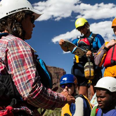Summer Program - Whitewater Rafting | NOLS Salmon Backpacking and Rafting