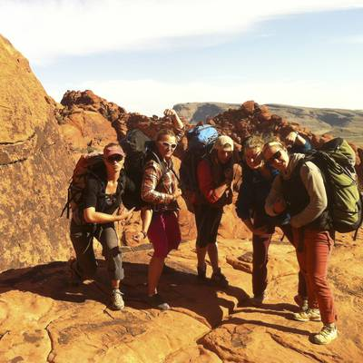 Gap Year Program - NOLS Southwest Rock Climbing  2
