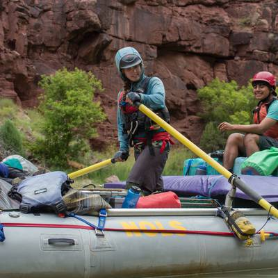 Summer Program - Kayaking | NOLS Whitewater River Expedition – 16 and 17 Only