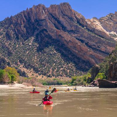 Summer Program - Whitewater Rafting | NOLS Whitewater River Expedition