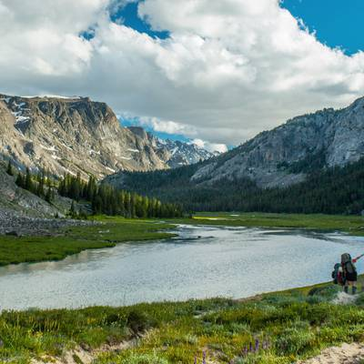 Summer Program - Fishing | NOLS Wind River Wilderness 16 and 17 Only