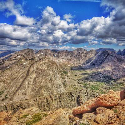 Summer Program - Hiking | NOLS Wind River Wilderness 16 and 17 Only