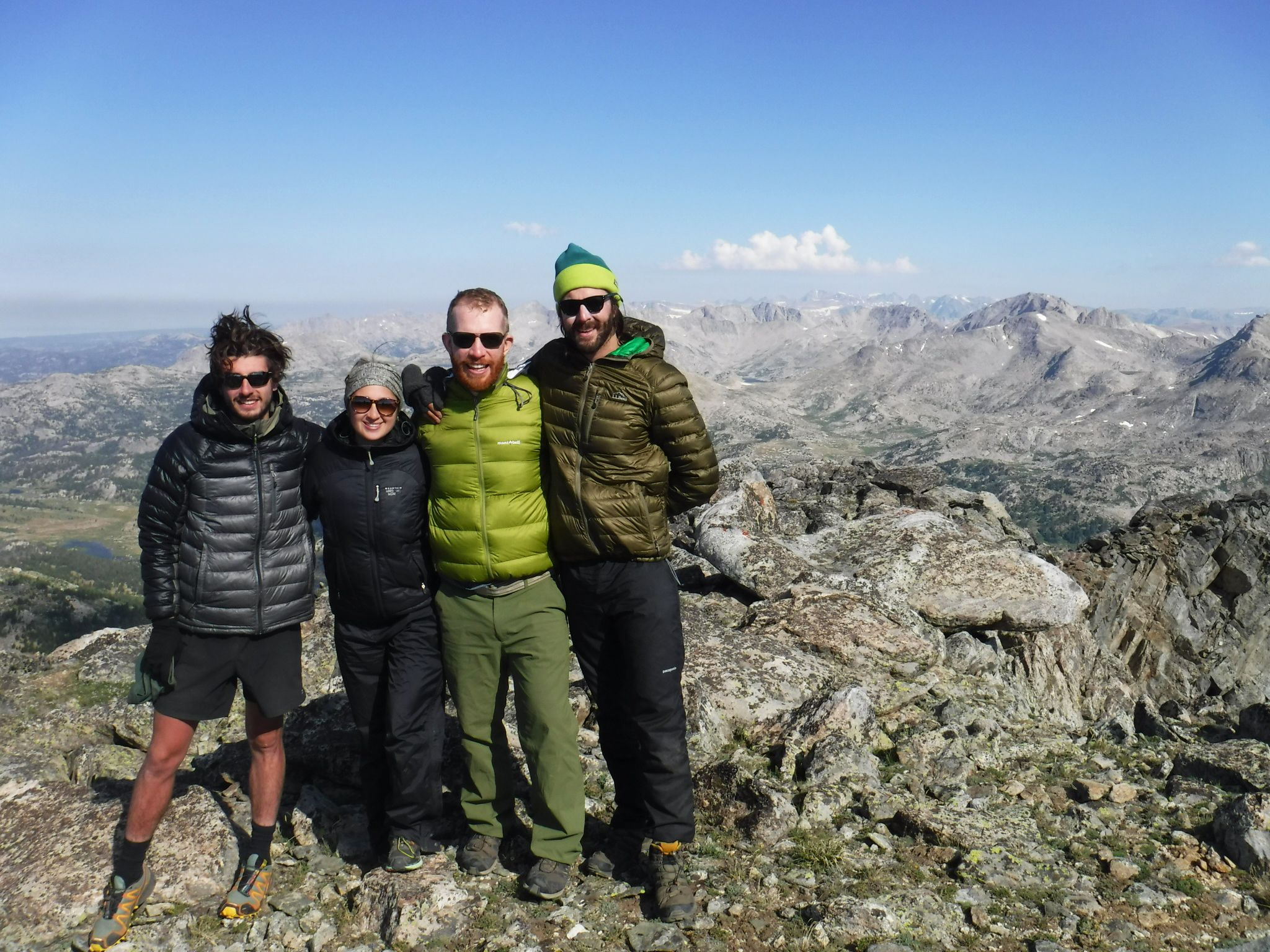 Summer Program - Hiking | NOLS Wind River Wilderness
