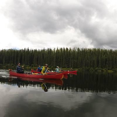 Summer Program - Canoeing | NOLS Yukon Backpacking and Wilderness Canoe