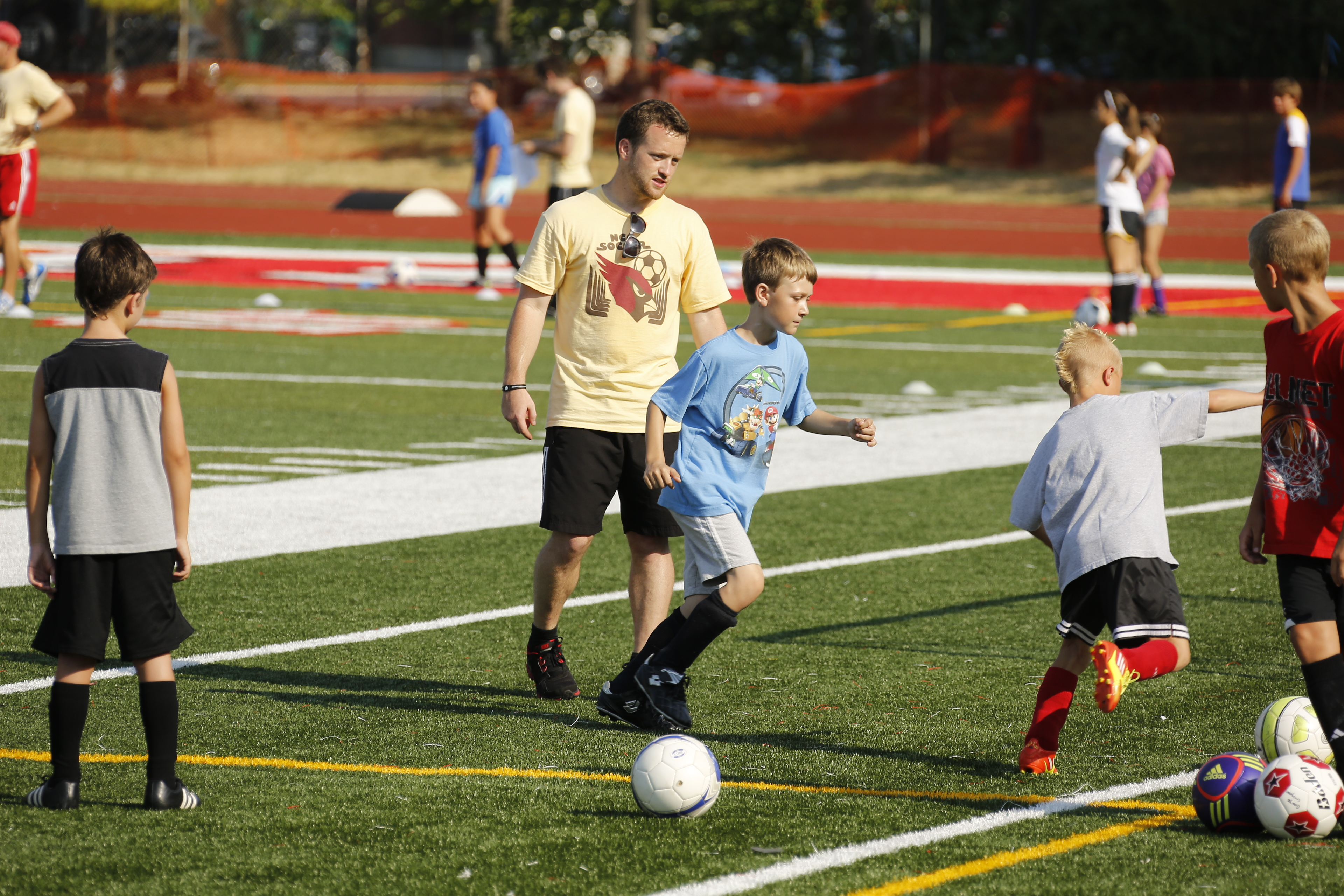 Summer Program - Soccer | North Central College: Summer Athletic Camps
