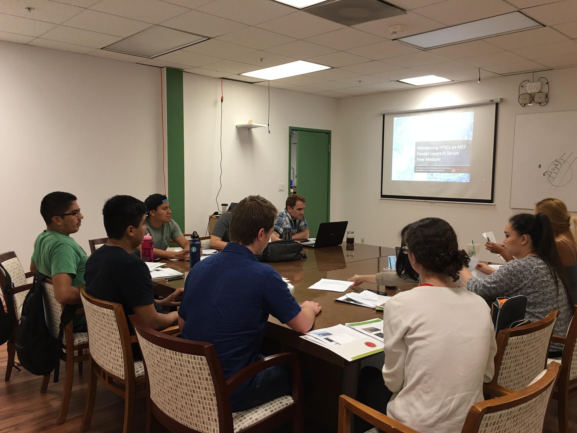 Summer Program - Engineering | Pathways to Stem Cell Science