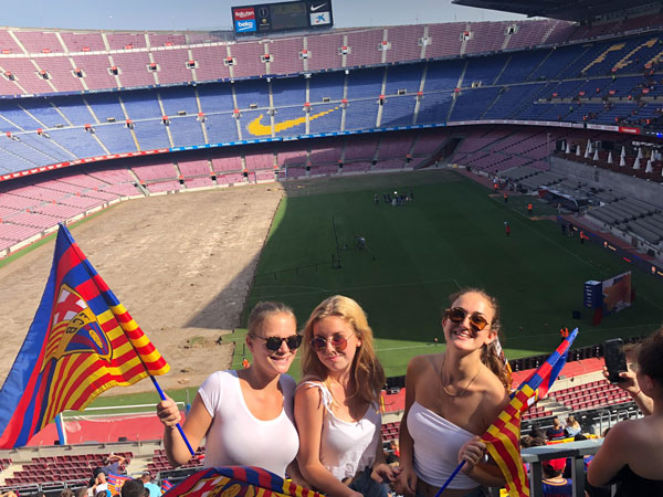 Summer Program - Career Exploration | Putney Student Travel: Sports Management Program in Barcelona