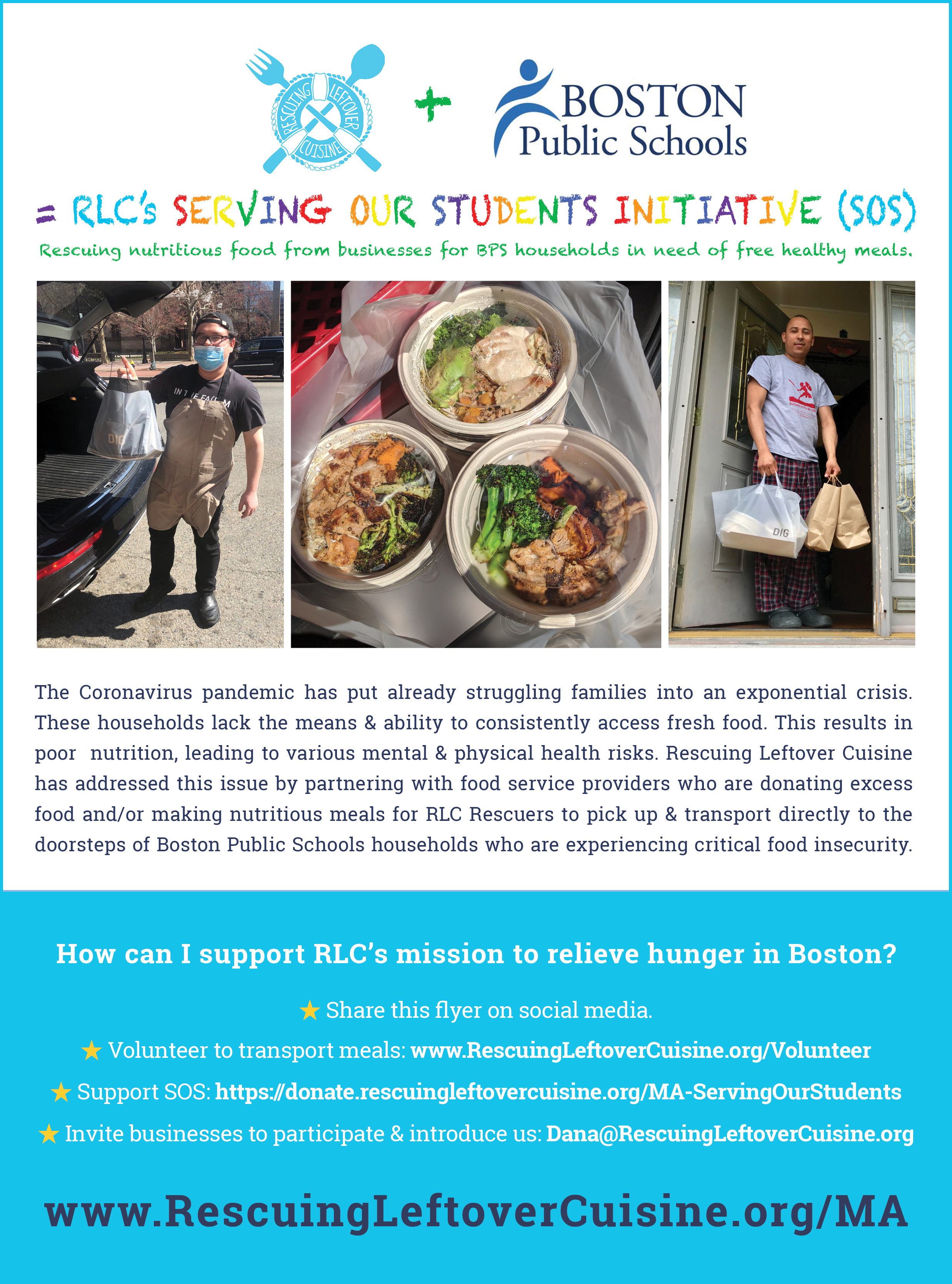 Community Service Organization - Rescuing Leftover Cuisine Massachusetts  2