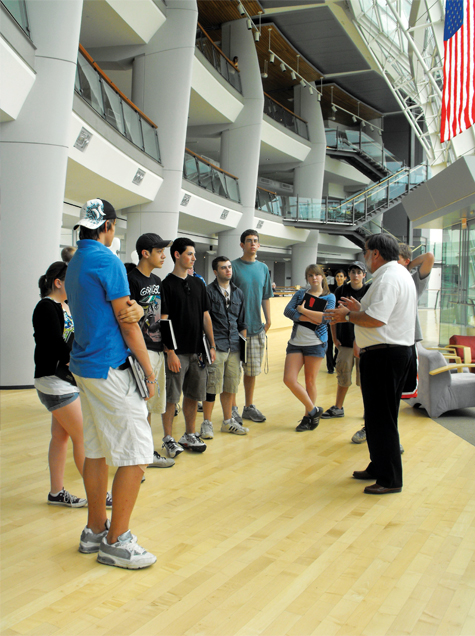 Summer Program - College Courses | Roger Williams University: High School Summer Academy in Architecture