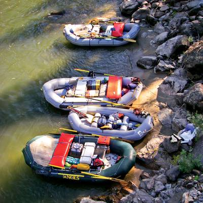 Summer Program - Whitewater Rafting | NOLS Salmon Backing and Rafting Adventure