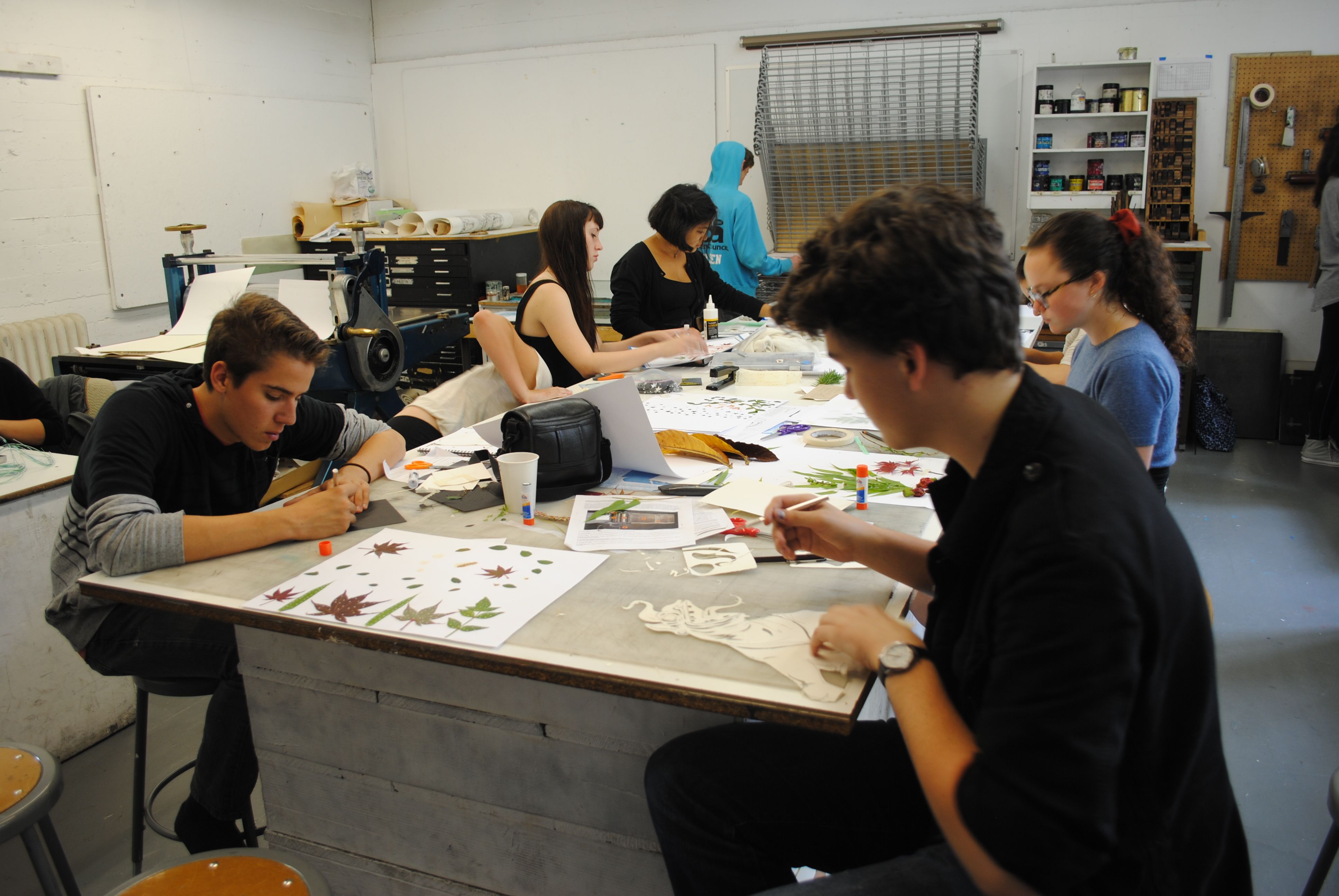 Summer Program - Visual Arts | San Francisco Art Institute PreCollege