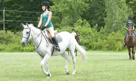 Summer Program - Horseback Riding | Bonnie Castle Riding Camp