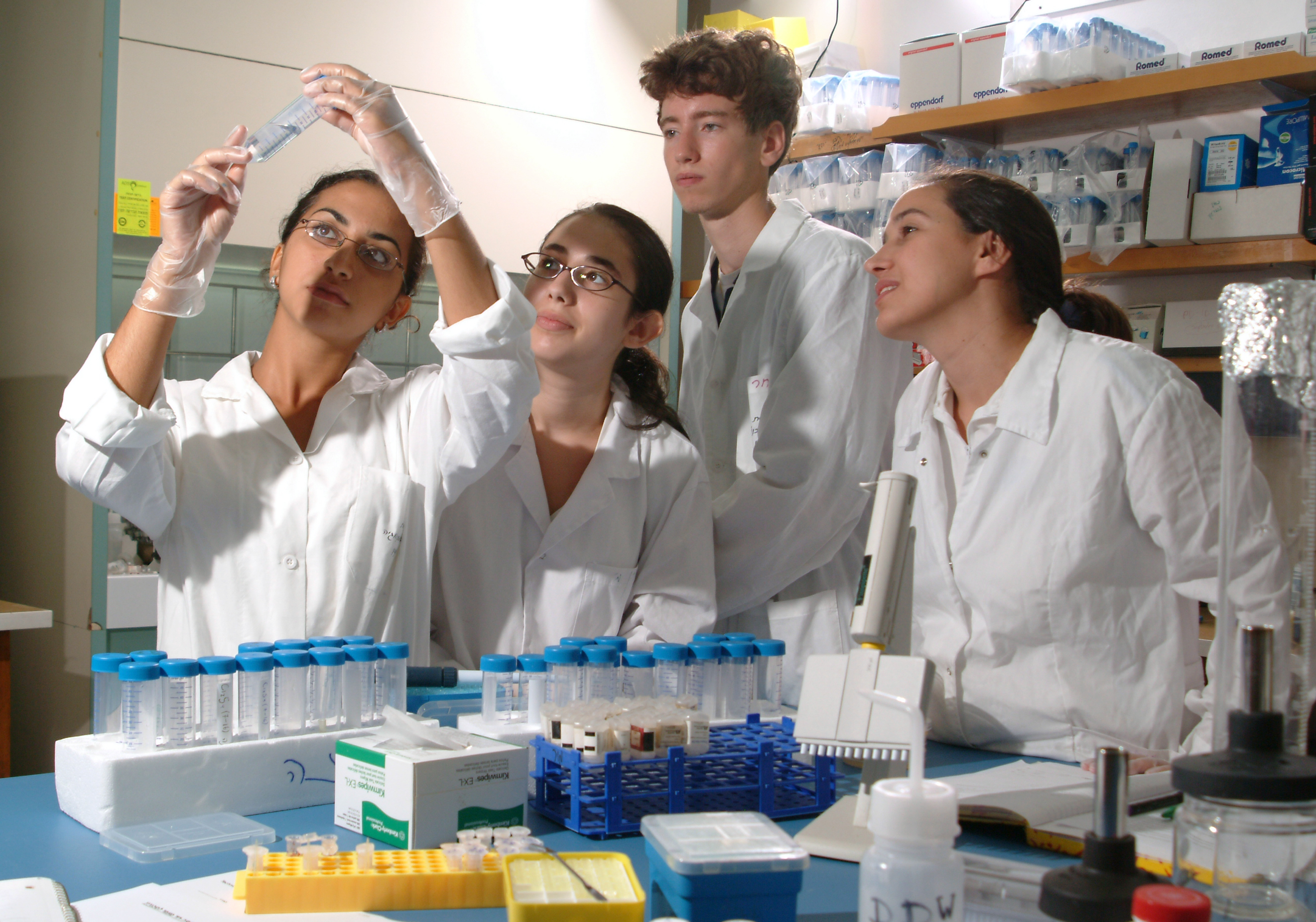 Summer Program - Chemistry | SciTech Technion - International Reseach Summer Program in Israel