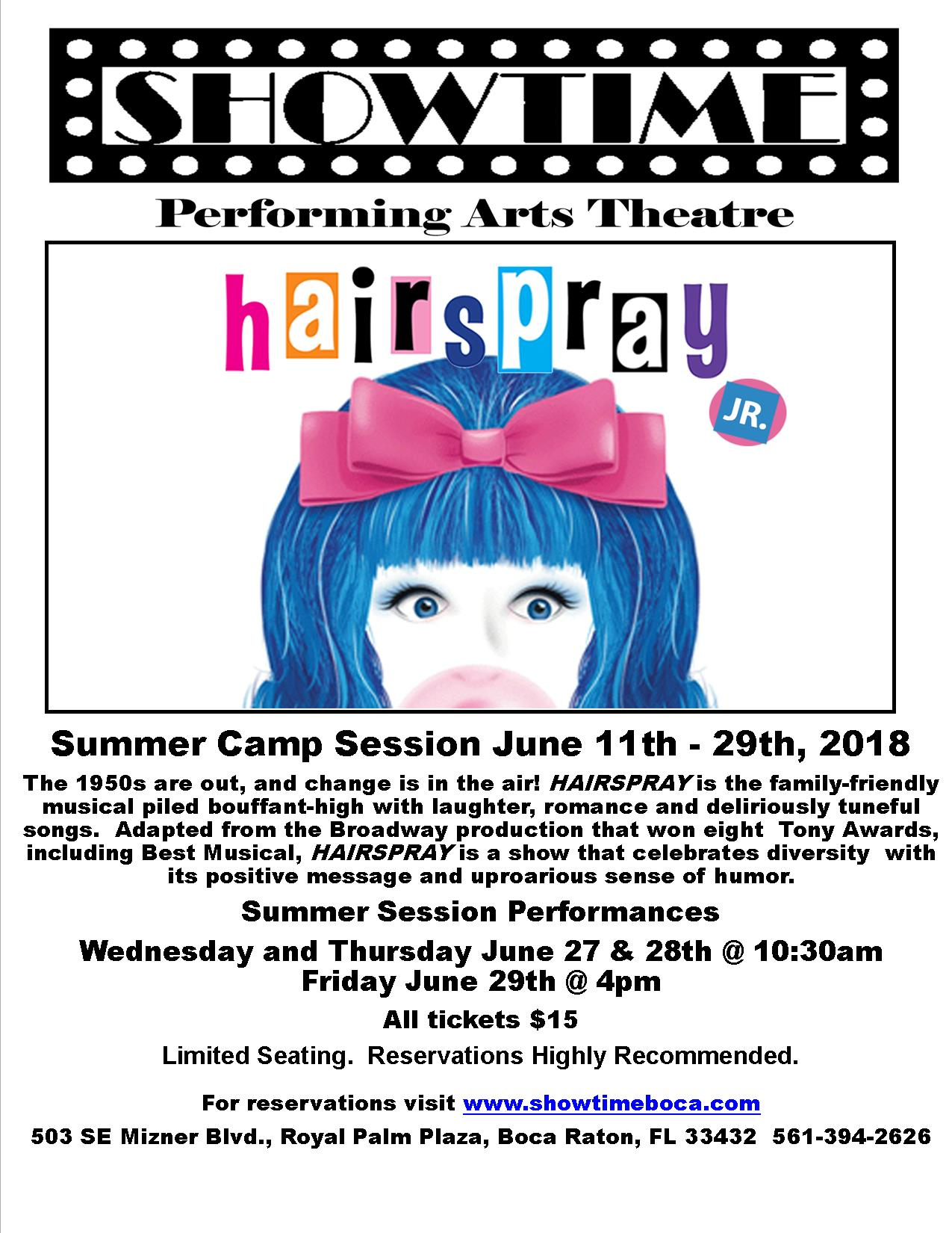 Summer Program - Musical Theatre Arts | Showtime Performing Arts Theatre