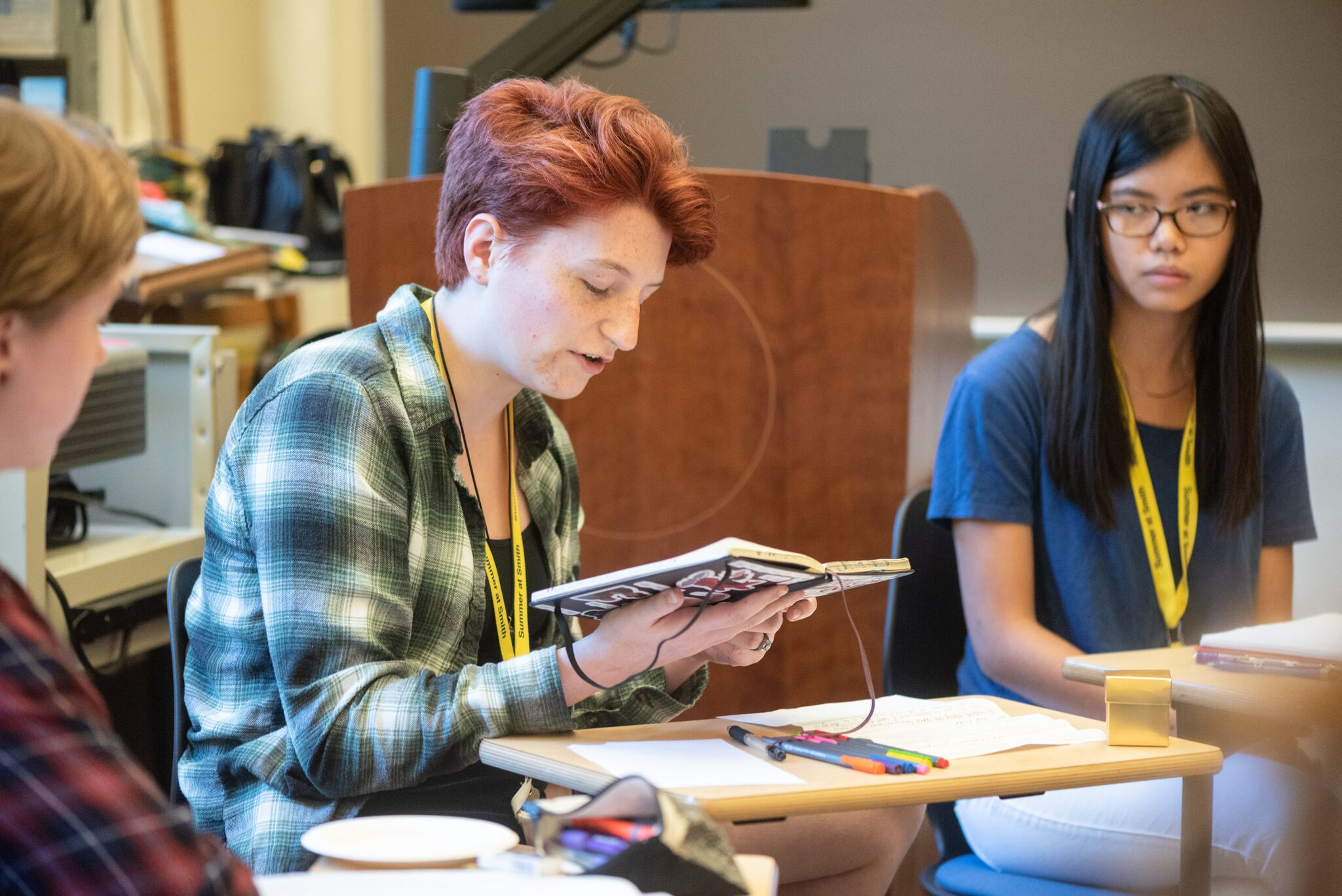 Summer Program - Pre-College | Smith Precollege Summer Programs - Young Women's Writing Workshop