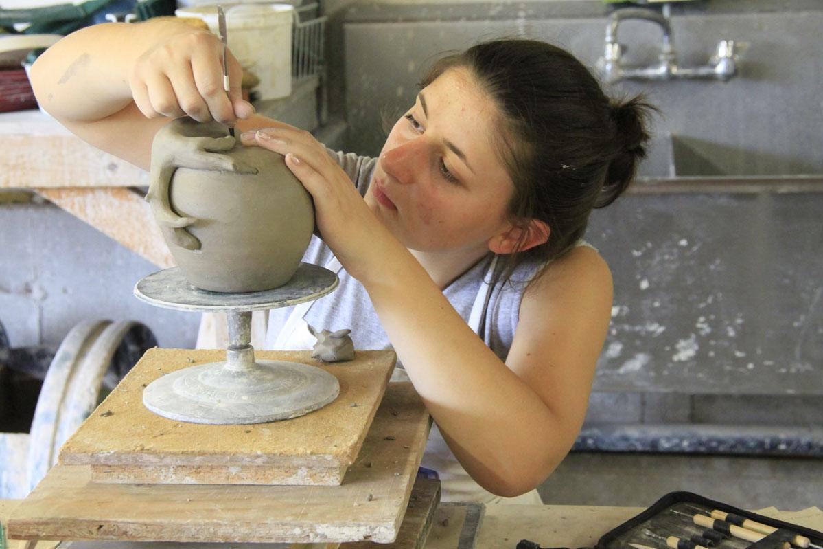 Summer Program - Arts and Crafts | Snow Farm Summer:  Summer Art Program for High School Students