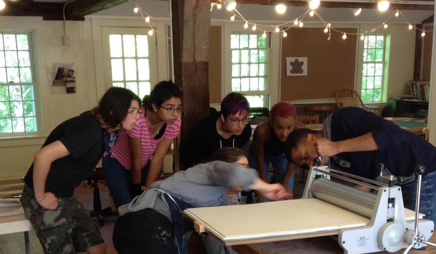 Summer Program - All Arts | Snow Farm Summer:  Summer Art Program for High School Students