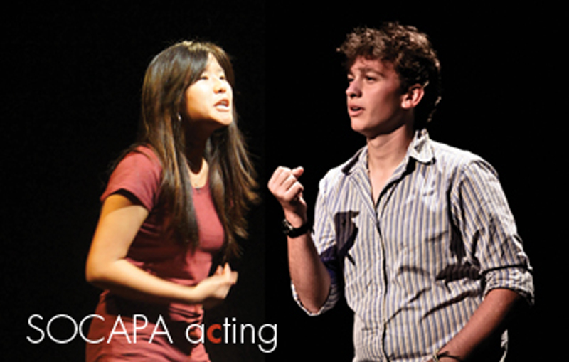 Summer Program - Pre-College | SOCAPA: Acting Camp
